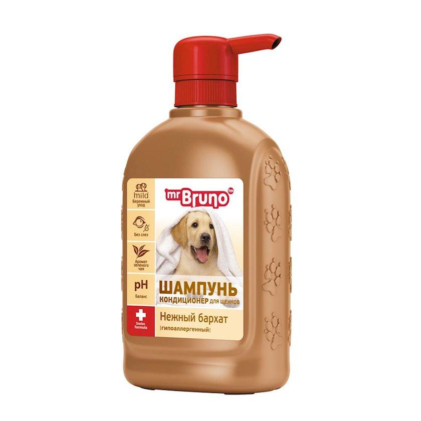 """Şampun-kondisioner Mr.Bruno """"Нежный бархат"""" küçüklər üçün, 350 ml"""