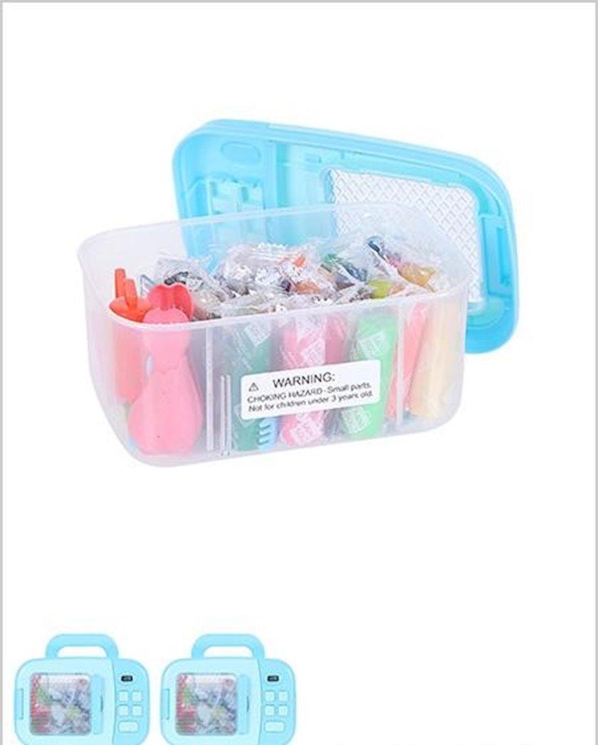 Plastilin Miniso 24-Color Modeling Clay (Blue Box)