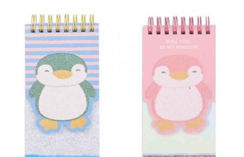 Bloknot Miniso Penguin Notepad,müxtəlif rənglər