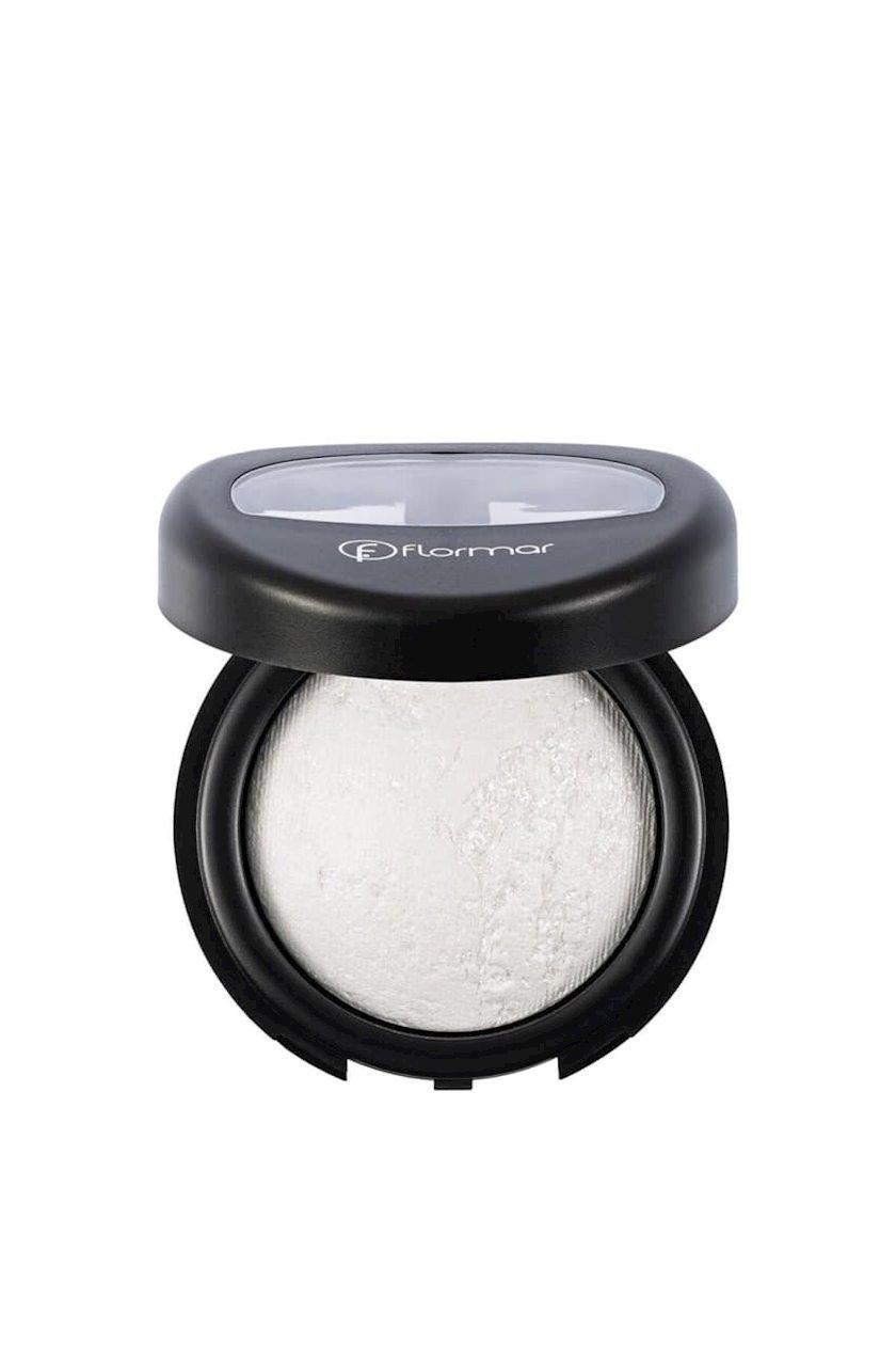 Göz kölgələri Flormar Diamonds Terracotta Eyeshadow D01 White Diamond, 5 q