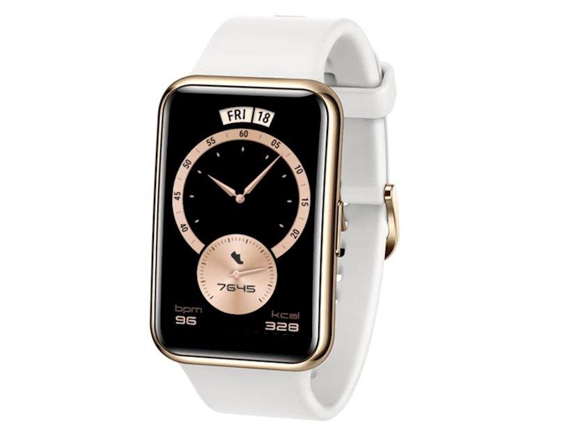Smart saat Huawei Watch Fit Elegant White