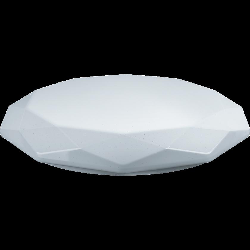 İdarəetmə pultu ilə səthə quraşdırılan çıraq Navigator NBL-RC01/RC02-IP20, 84x511mm, 60Вт, almaz, ağ
