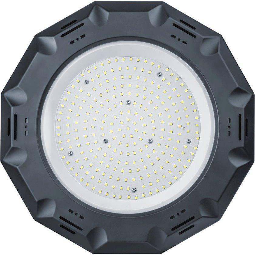 LED çıraq Navigator NHB-P4-150-6.5K-120D-LED, 150Vt, qara rəng, ölçü 300x65mm