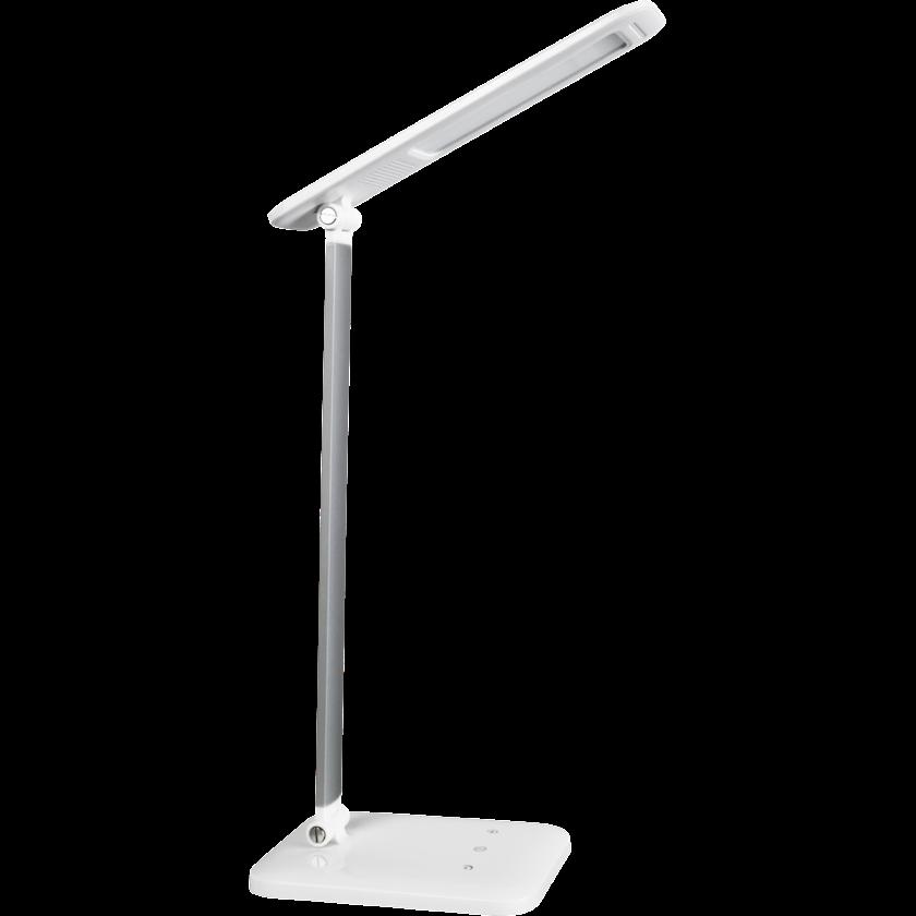 Masaüstü LED çıraq Navigator NDF-D012, 8Vt, 120x180x415mm, ağ rəng