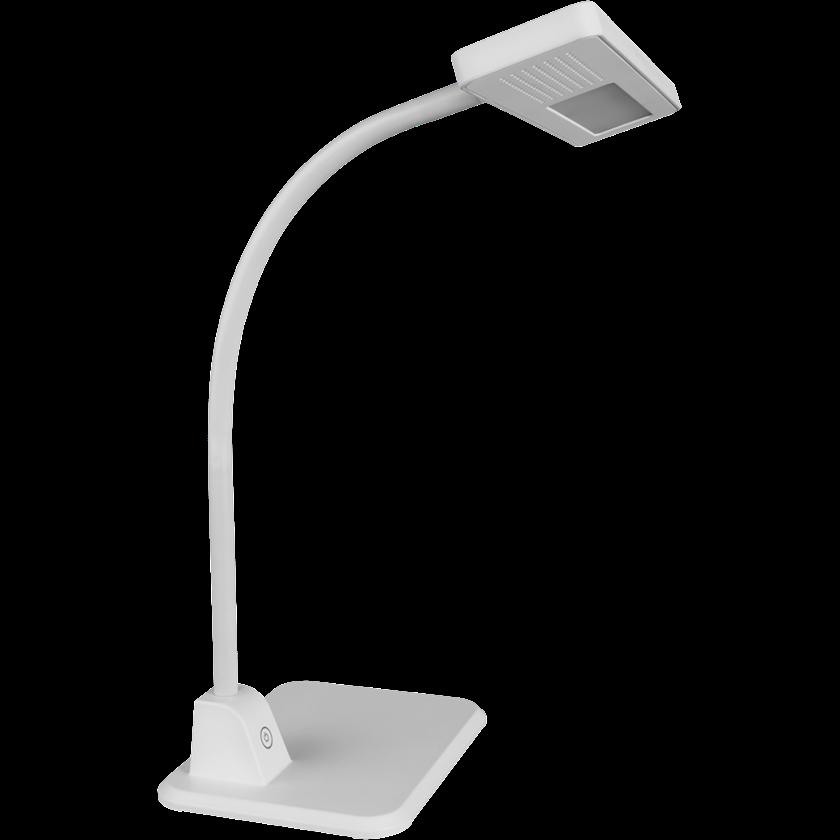Masaüstü LED çıraq Navigator NDF-D016, 7Vt, 180x140x815mm, boz rəng