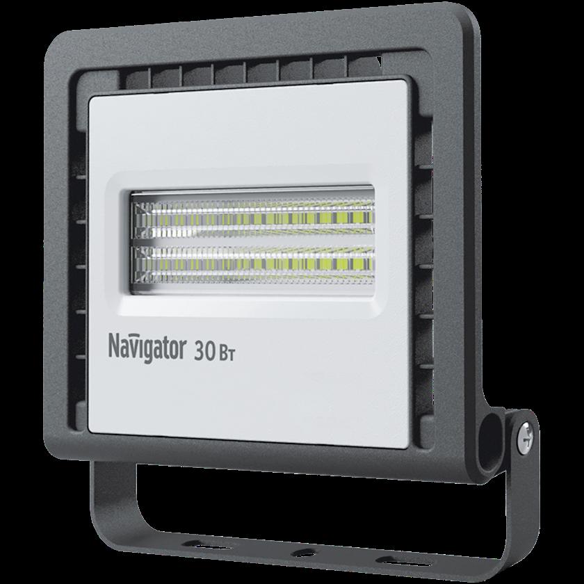 LED projektor Navigator NFL-01, 30Vt, IP65, 146x33x148mm, qara rəng