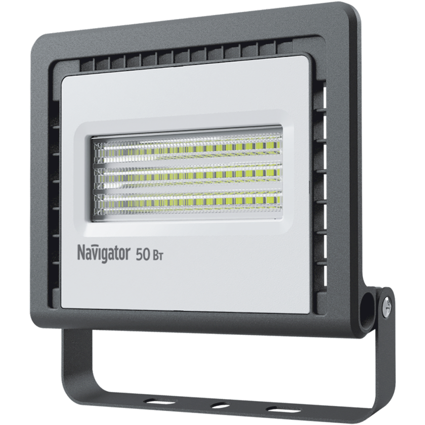 LED projektor Navigator NFL-01, 50Vt, IP65, 180x38x183mm, qara rəng
