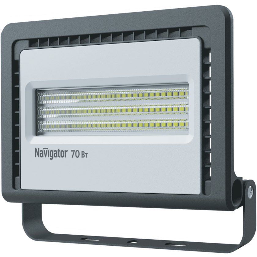 LED projektor Navigator NFL-01, 70Vt, IP65, 224x44x193mm, qara rəng