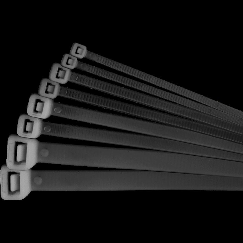 Kabel üçün yığıcı kəmər Navigator NCT-048-300-100/BL (100 əd/bağlamada), ölçü 300x4.8x1mm