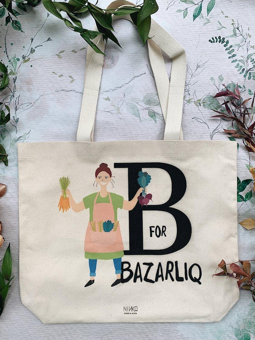 Eko çanta «B-bazarlıq»