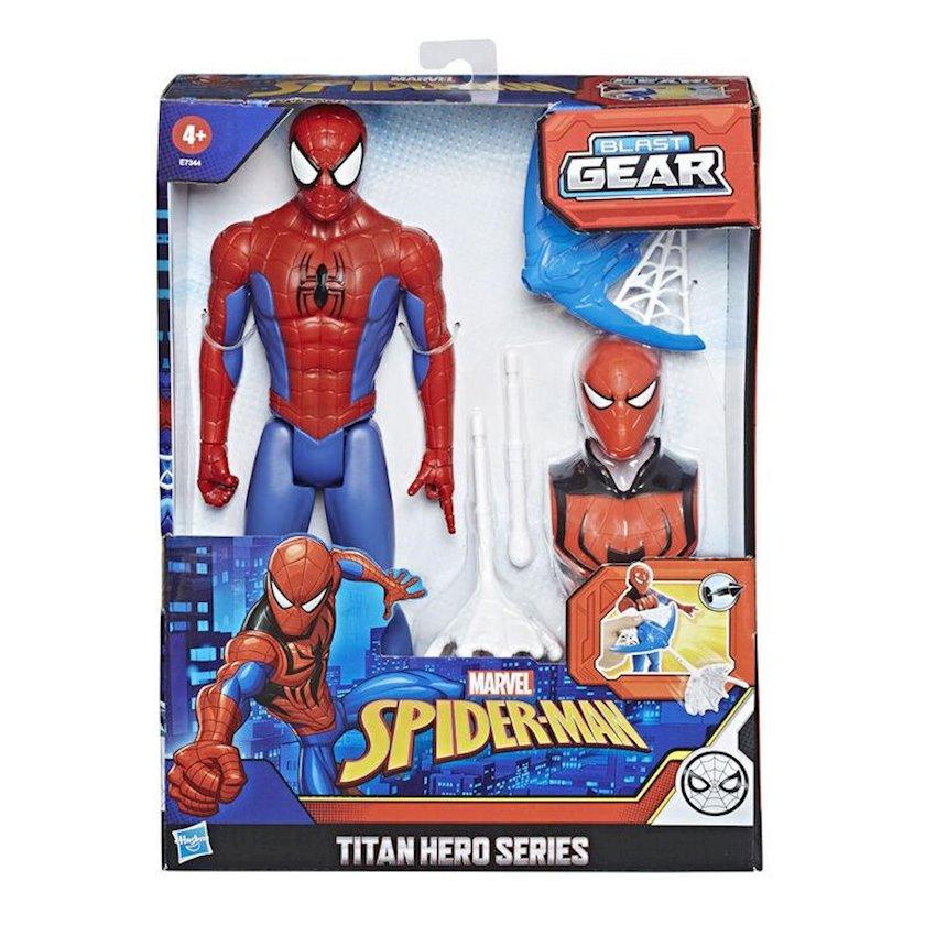 Oyuncaq fiqur Hasbro Marvel Spider-Man Titan Hero Partlayıcı ötürmə