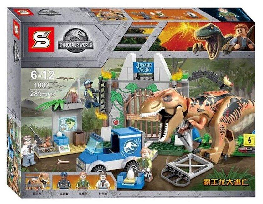 Konstruktor SY Dinosaur World Ti-Reksin qaçışı 289 hissə