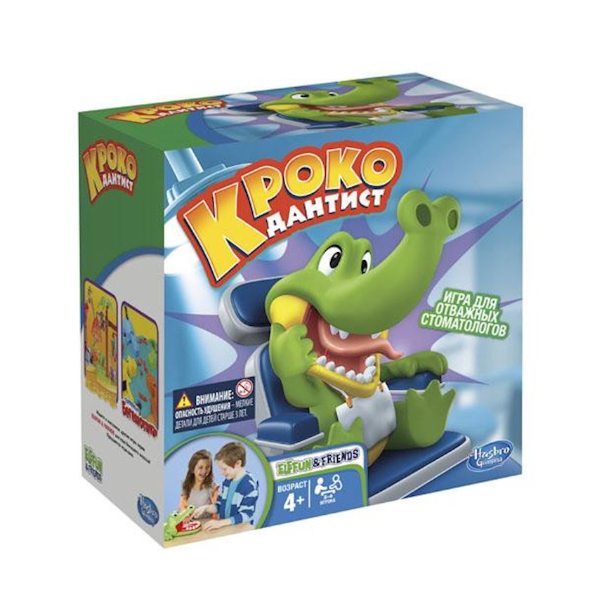 Masaüstü oyun Hasbro Timsah Diş həkimi
