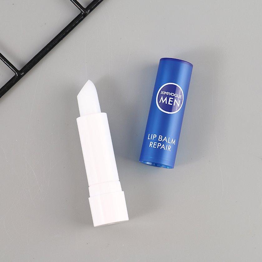 Nəmləndirici dodaq balzamı Ximi Vogue Fresh Mint Moisturizing Lip Balm for Man