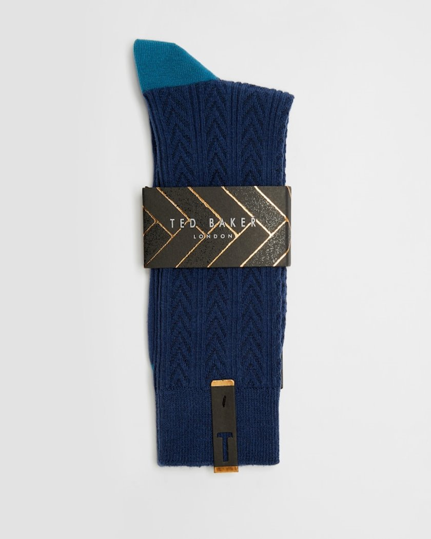 Corab Ted Baker Balwin, 1 ədəd, One size, Dark Blue
