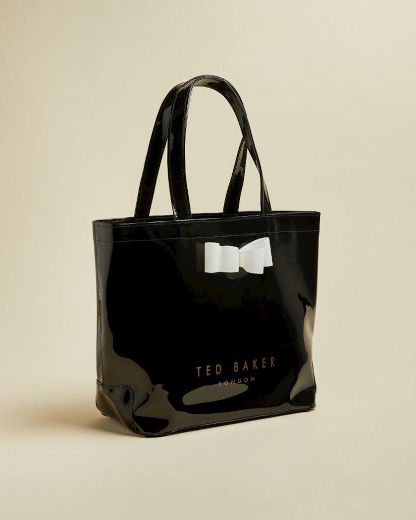 Qadın dəri çantası Ted Baker Haricon 243520, Black