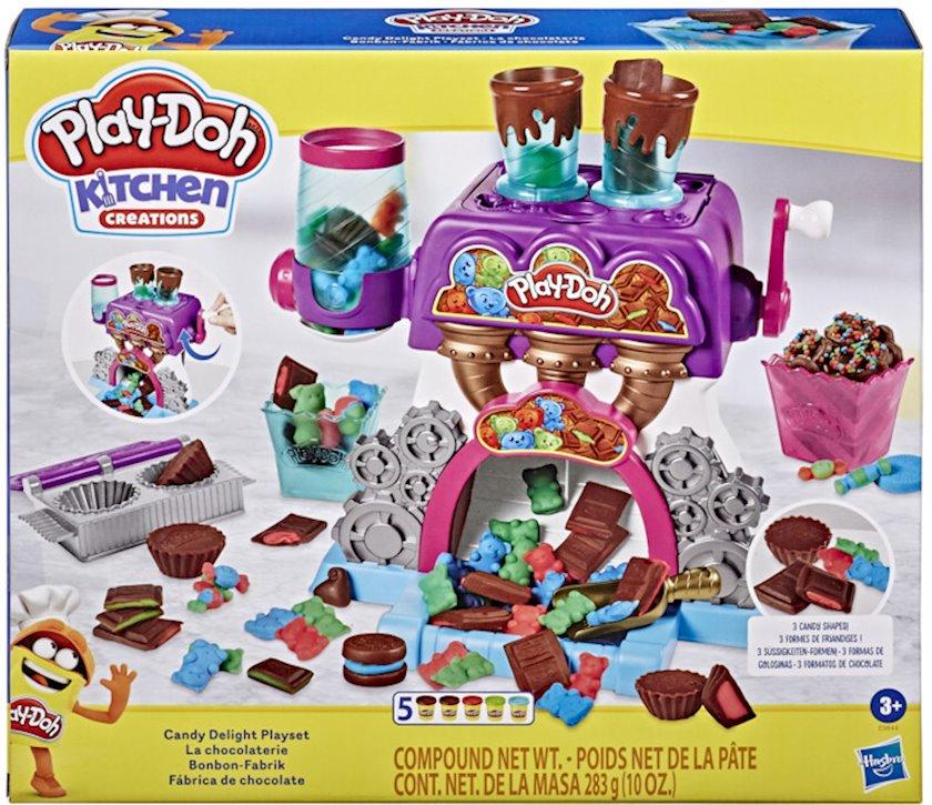 Oyun dəsti Hasbro Play-Doh Konfet fabrikası