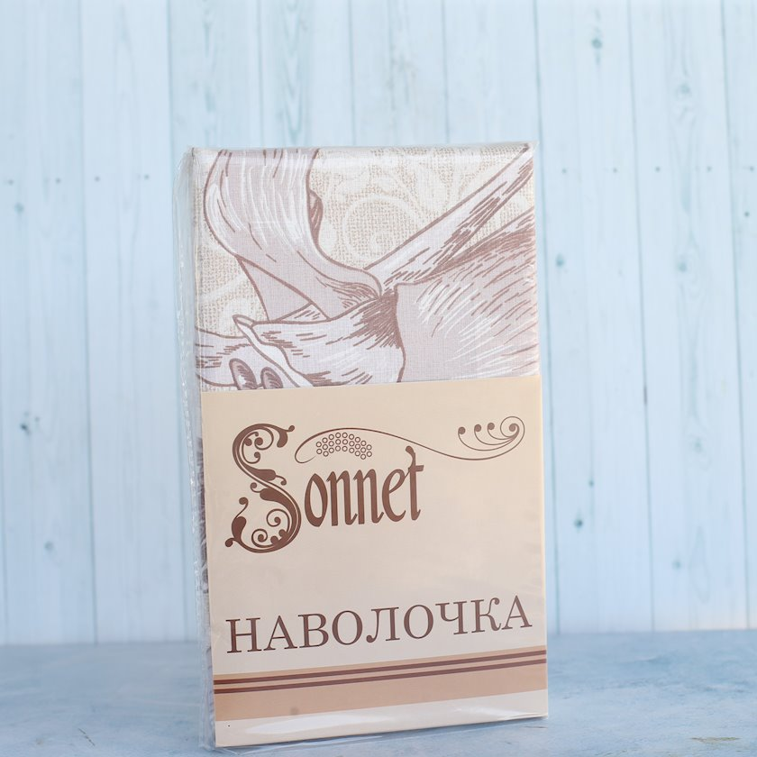 Yastıqüzü Taym Sonnet,50х70 sm,kətan,pambıq,2 əd