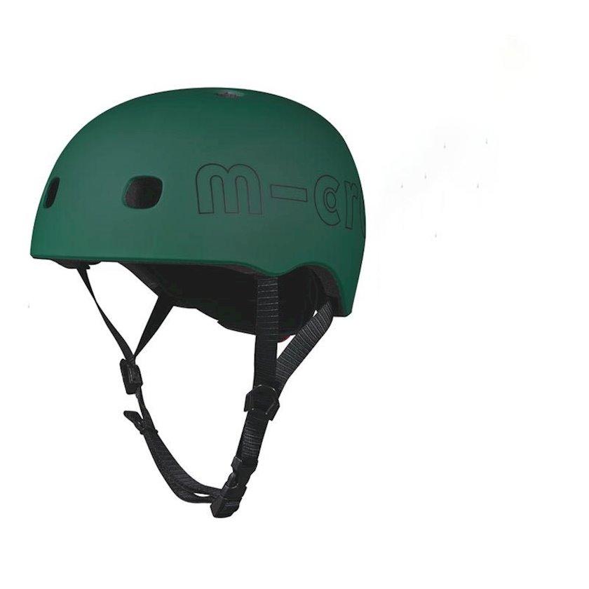 Qoruyucu dəbilqə Micro Forest Green LED M,yaşıl,52-56 sm