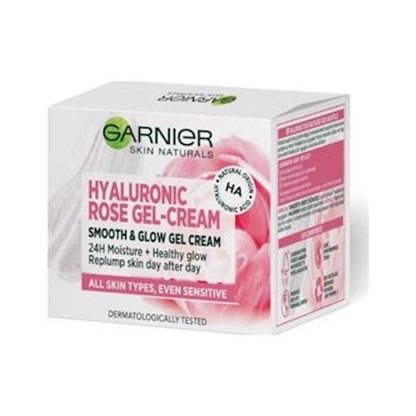 Krem-gel üz üçün Garnier Skin Naturals Hyaluronic Rose Gel Cream,50 ml