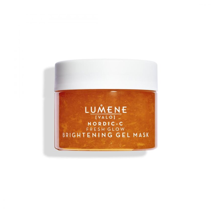 Ağardıcı gel maska üz üçün Lumene Valo Nordic-C Fresh Glow Brightening Gel Mask 150ml