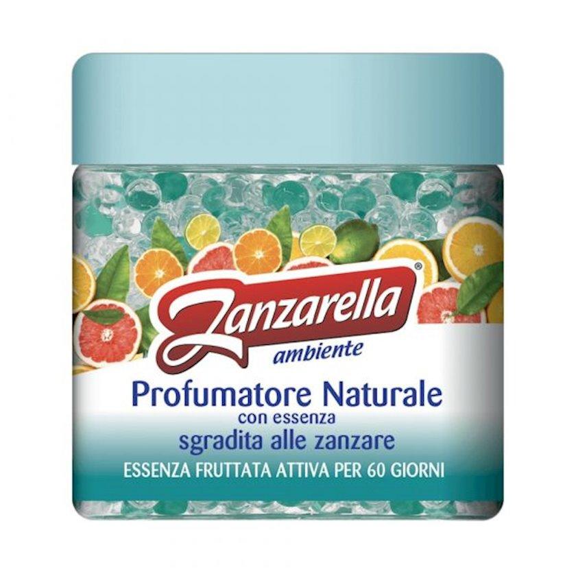 Ağcaqanadlara qarşı meyvə essensiyalı təravətləndirici gel Zanzarella Ambiente