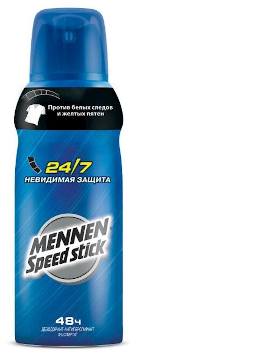 Dezodorant sprey bədən üçün Mennen Speed Stick Görünməz müdafiə