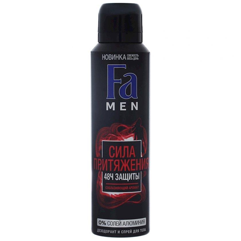 Dezodorant-aerozol FA Men Cazibənin gücü, 150 ml