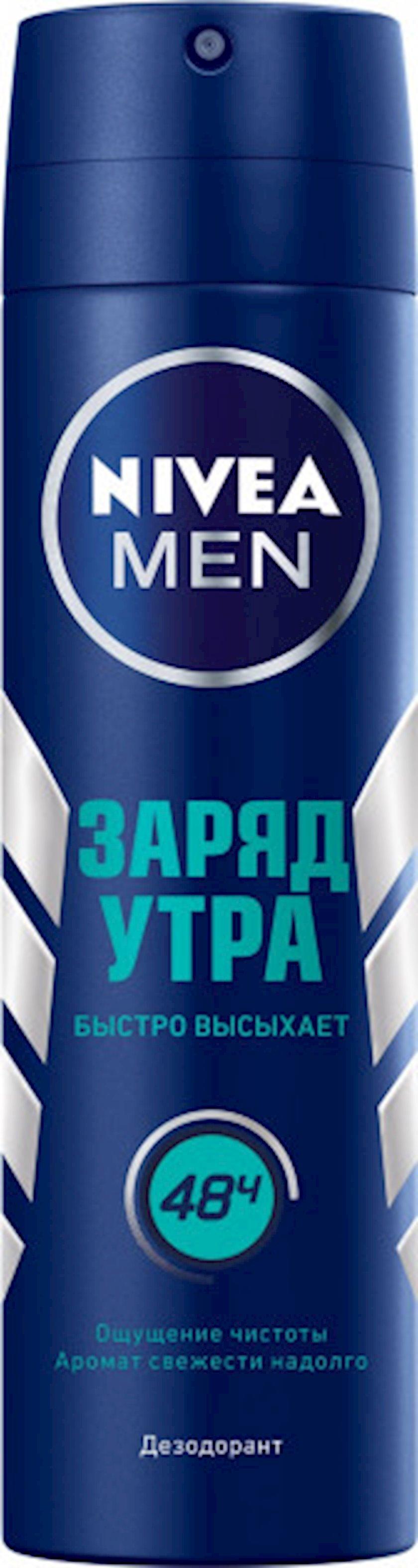 Dezodorant-sprey kişilər üçün Nivea Səhərin enerjisi
