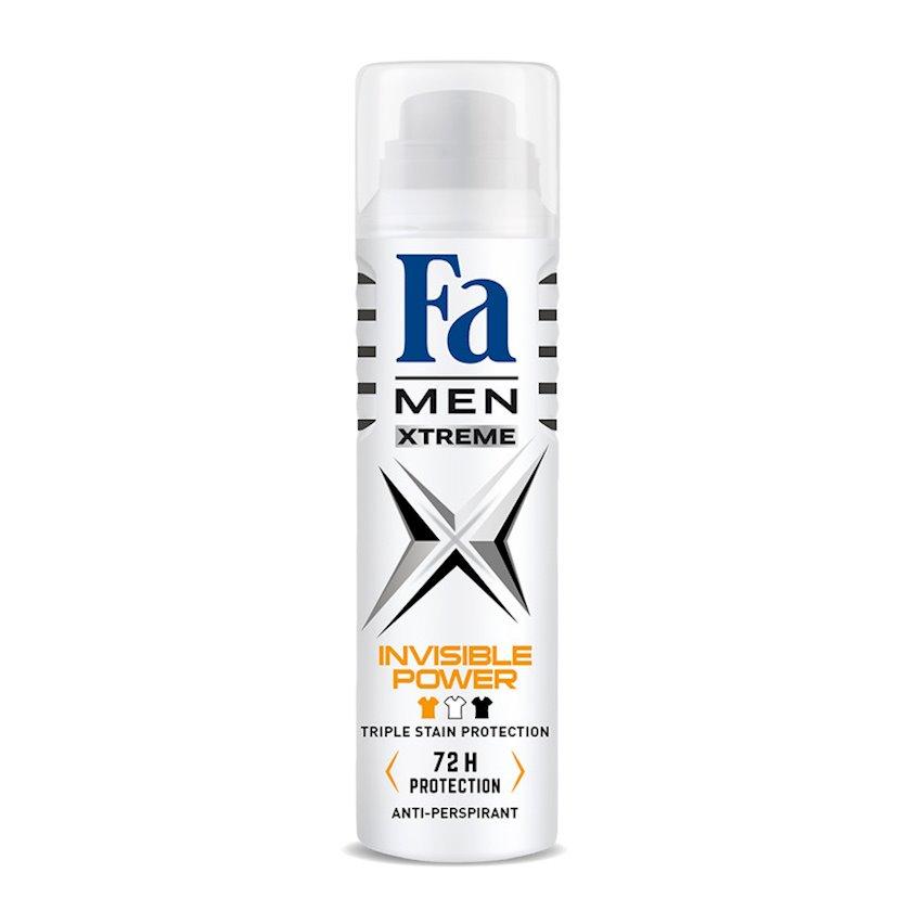 Dezodorant-sprey Fa Men Xtreme Invisible Power 150 ml