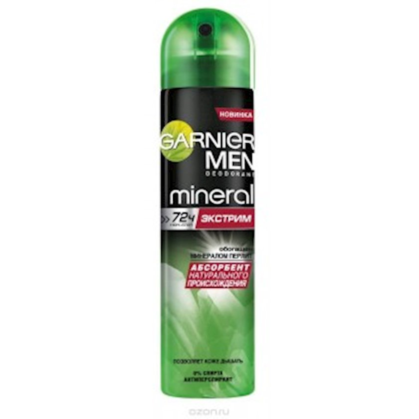 Antiperspirant Garnier Mineral Ekstrim sprey