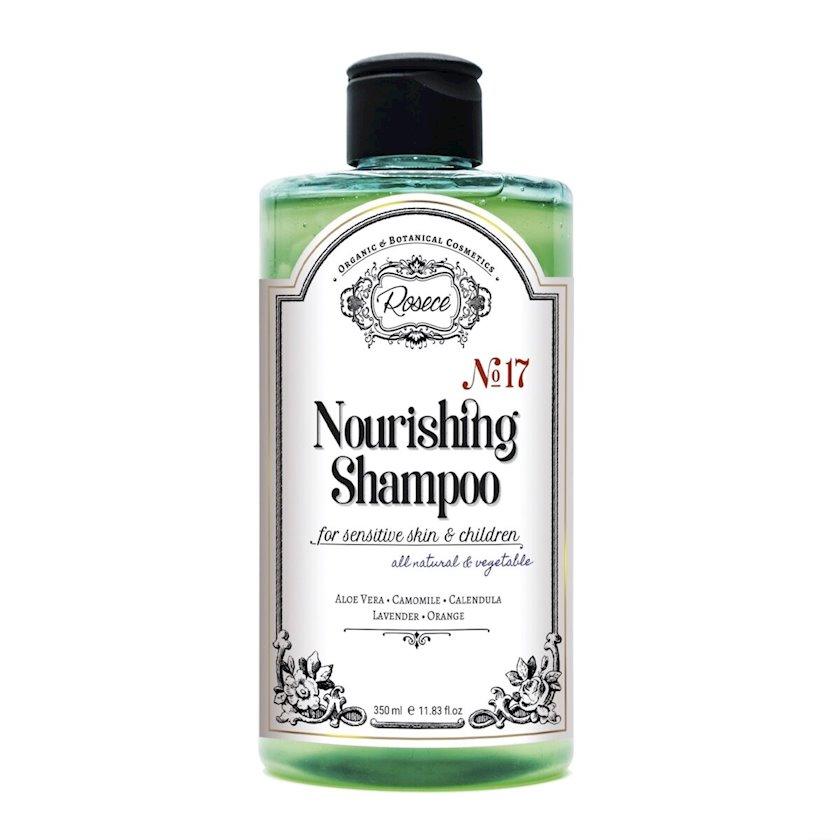 Qidalandırıcı şampun Rosece Nourishing Shampoo sulfatsız həssas dəri üçün, 350 ml