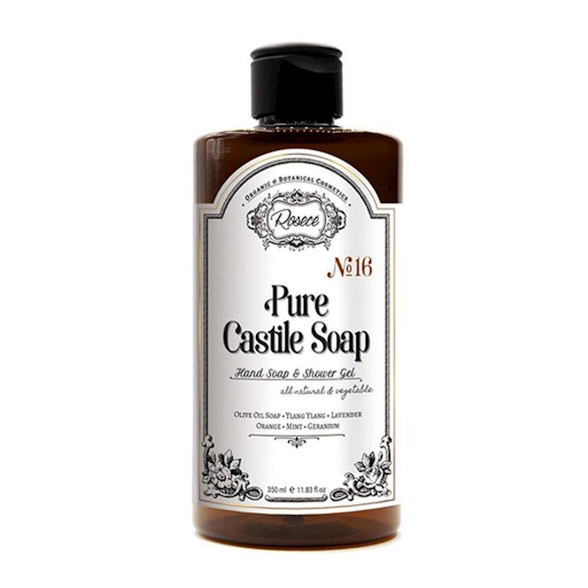 Maye sabun Rosece Pure Castile Soap Hand soap and Shower gel 350 ml