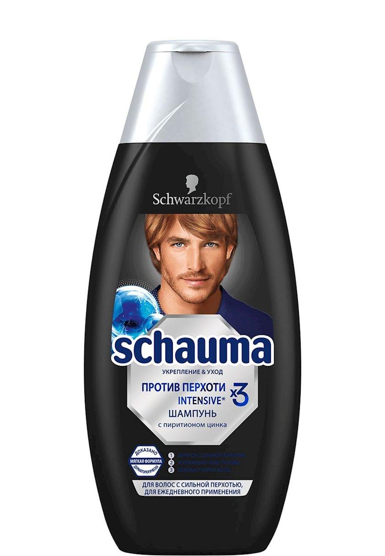 Şampun kişi üçün Schauma Intensive  xüsusilə şiddətli kəpəkdə