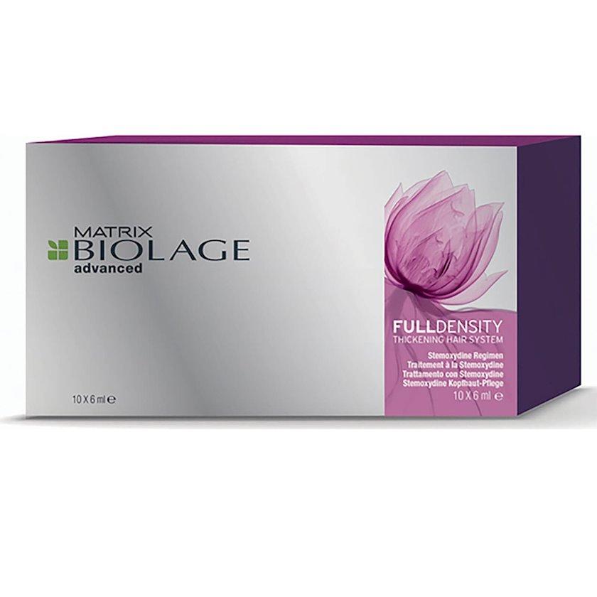 Saçların uzanmasını aktivləşdirən ampulalar Matrix Biolage FullDensity 10x6 ml