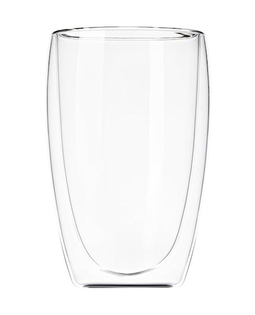 Stəkan dəsti Ardesto ikiqat divarlı latte üçün,400 ml,2 əd. AR2640G