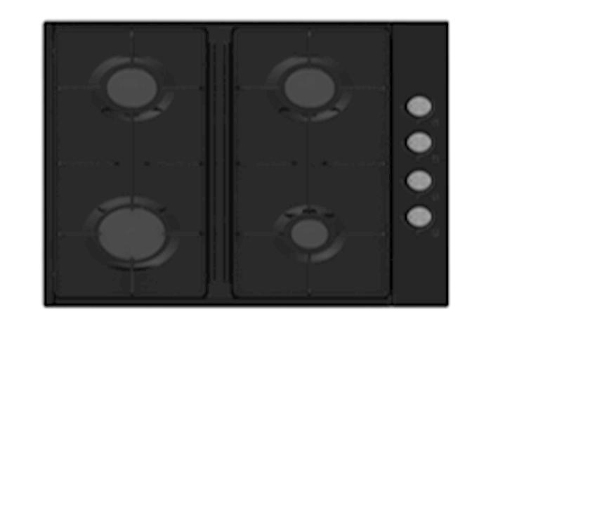 Quraşdırılan bişirmə paneli Electrotech Easygo
