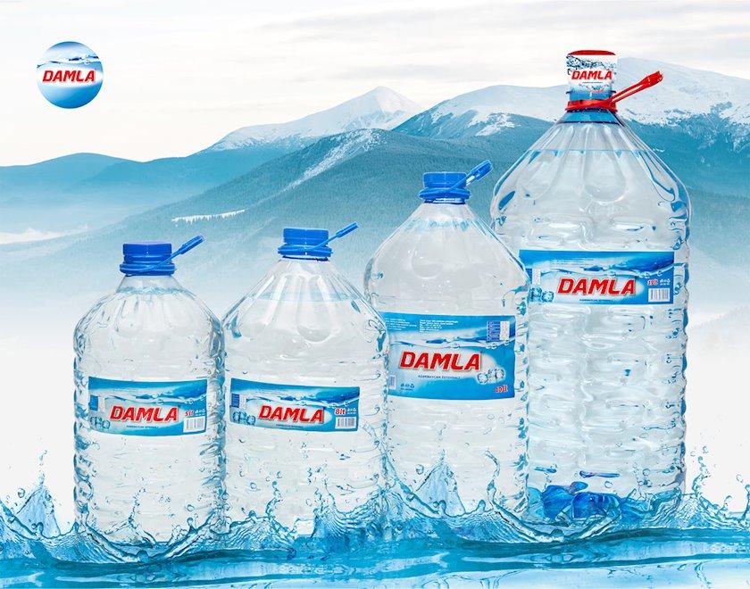 Mineral su Damla qazsız,8 L