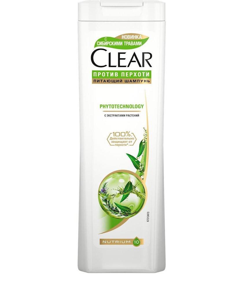 Kəpəyə qarşı şampun Clear Vita Abe. Phytotechology, 200 ml