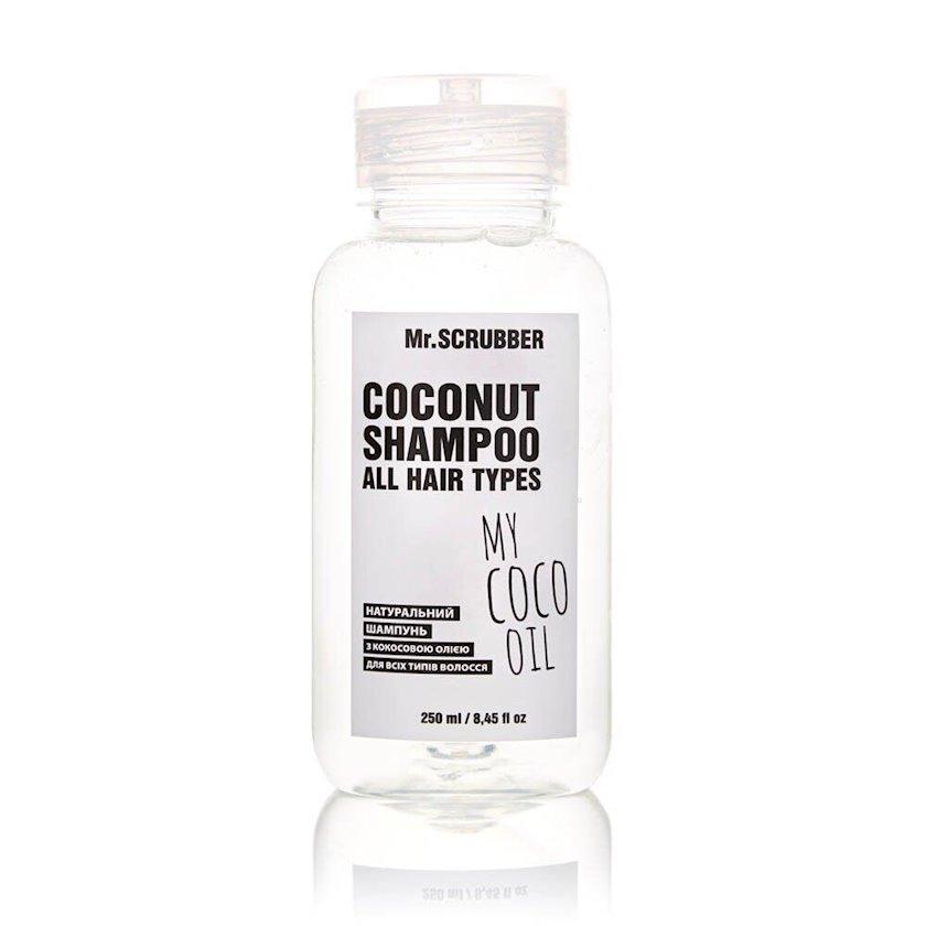 Təbii şampun Mr. Scrubber My Coco Oil,kokos yağı ilə,250 ml