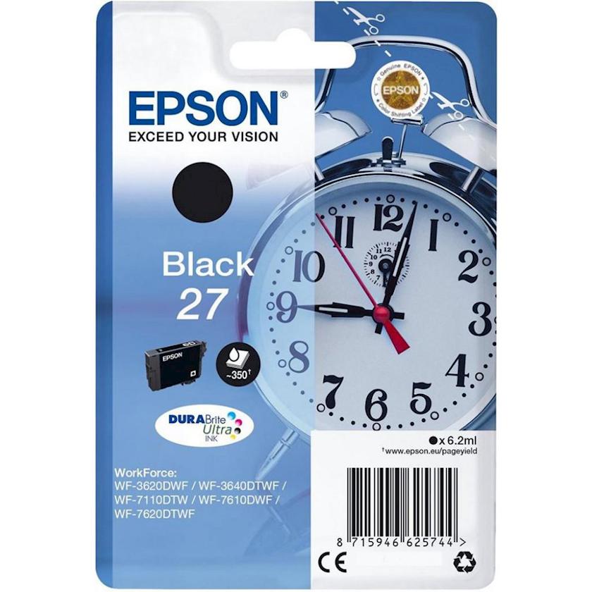 Şırnaqlı kartric Epson 27 C13T27014022 Black