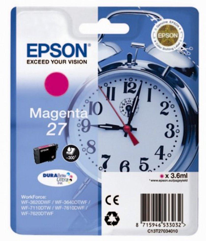 Şırnaqlı kartric Epson 27 C13T27034022