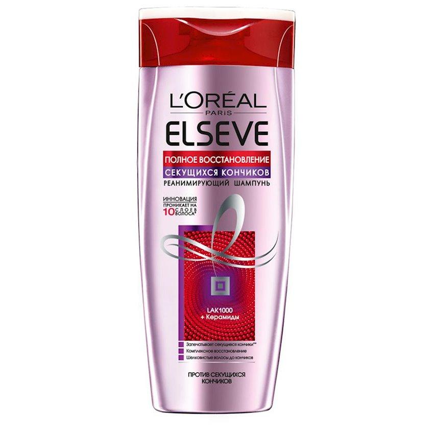 Şampun L'oreal Paris Elseve bölünən saç ucları üçün tam bərpa