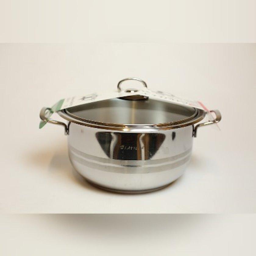 Qazan Hascevher Lavilla,polad,22x14 sm,gümüşü
