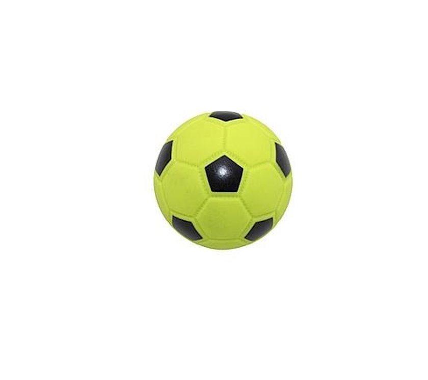 Futbol topu oyuncağı Zoomir зеленый, cüyültülü, 9 sm