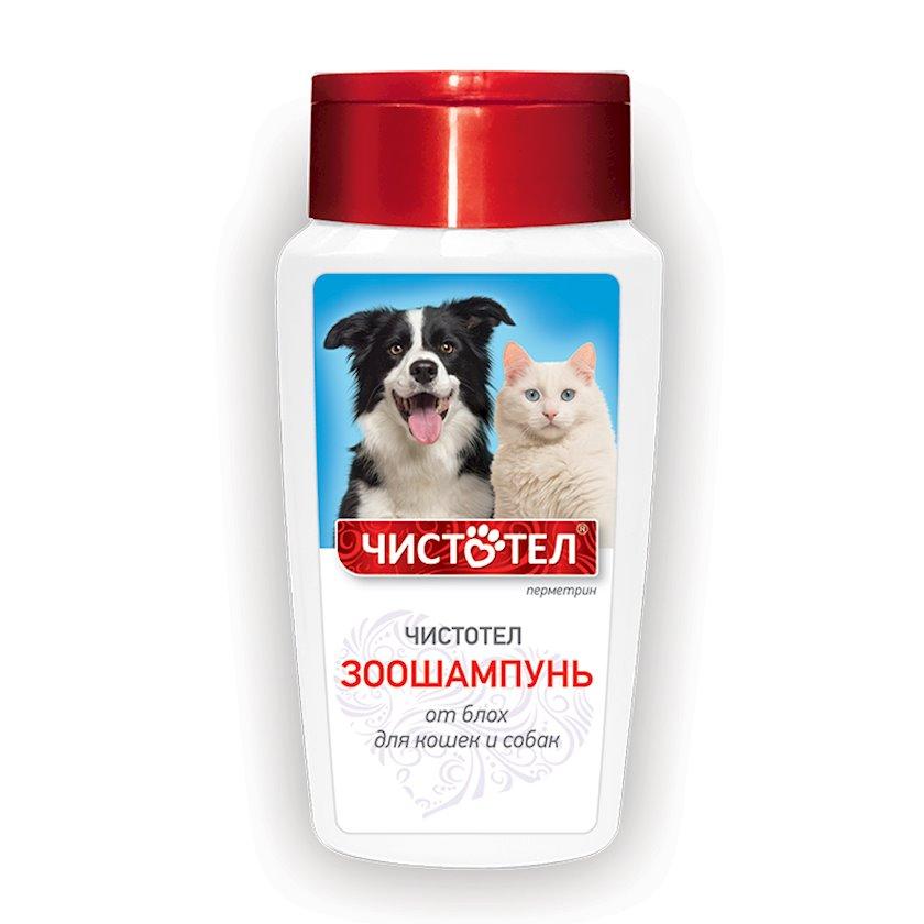 """Bit əleyhinə şampun """"Чистотел"""" itlər və pişiklər üçün, 180 ml"""