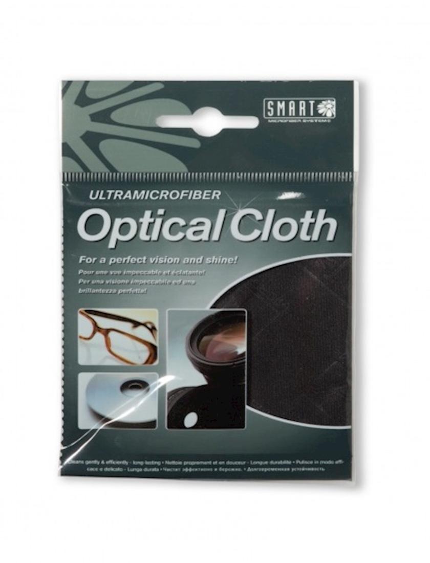 Optika üçün salfet Smart Microfiber, 20x20, rəng qara