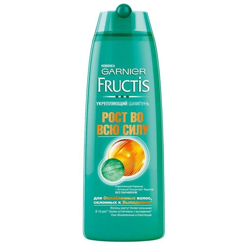 Şampun Garnier Fructis  tökülməyə meylli zəifləmiş saçlar üçün tam güc artımı 400 ml