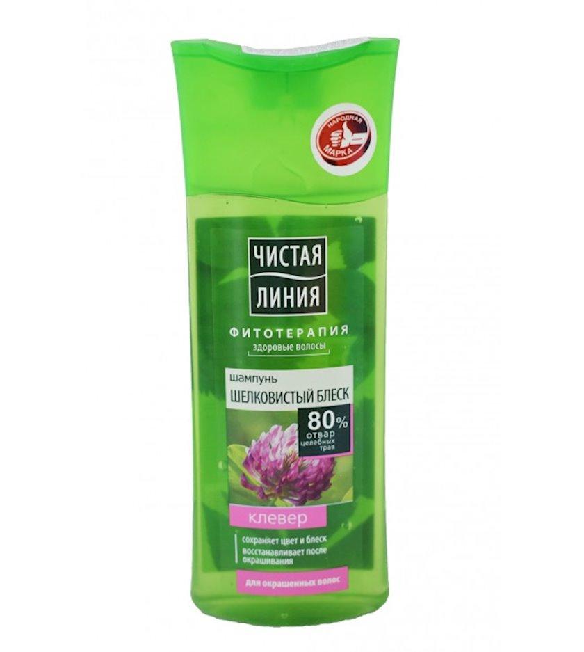 Şampun Чистая Линия bütün saç növləri üçün l yonca ilə 250 ml