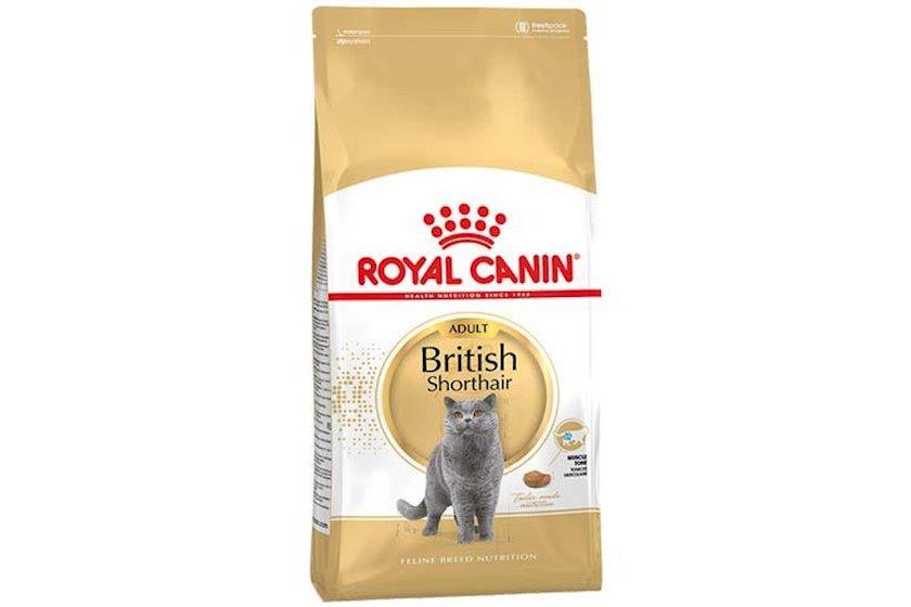 Quru yem Royal Canin British Shorthair Adult, 400 q (1 paketin qiyməti)
